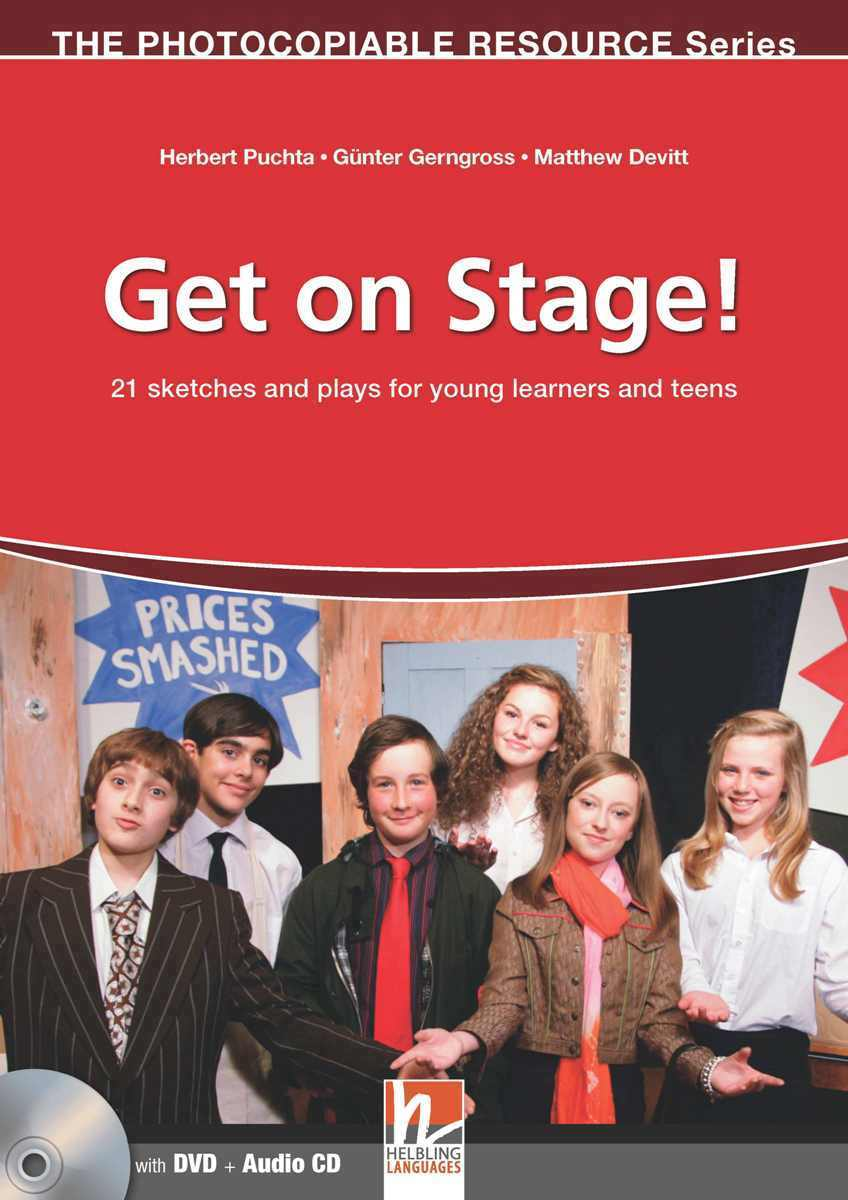 Get on Stage! + CD + DVD dooley j a trip to the rainforest stage 3 pupil s book