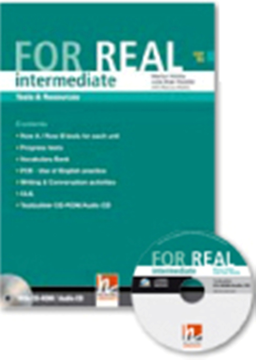 For Real Intermediate Tests & Resources + Testbuilder CD-ROM/Audio CD