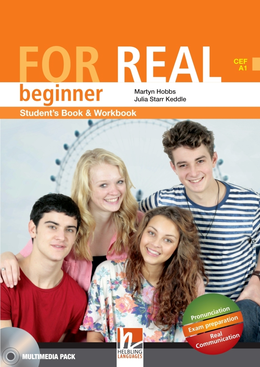 For Real Beginner Student's Pack STARTER + SB/WB + LINKS + CD-ROM + LINKS Audio CD redston chris cunningham gillie face2face 2ed starter sb dv online wb pk