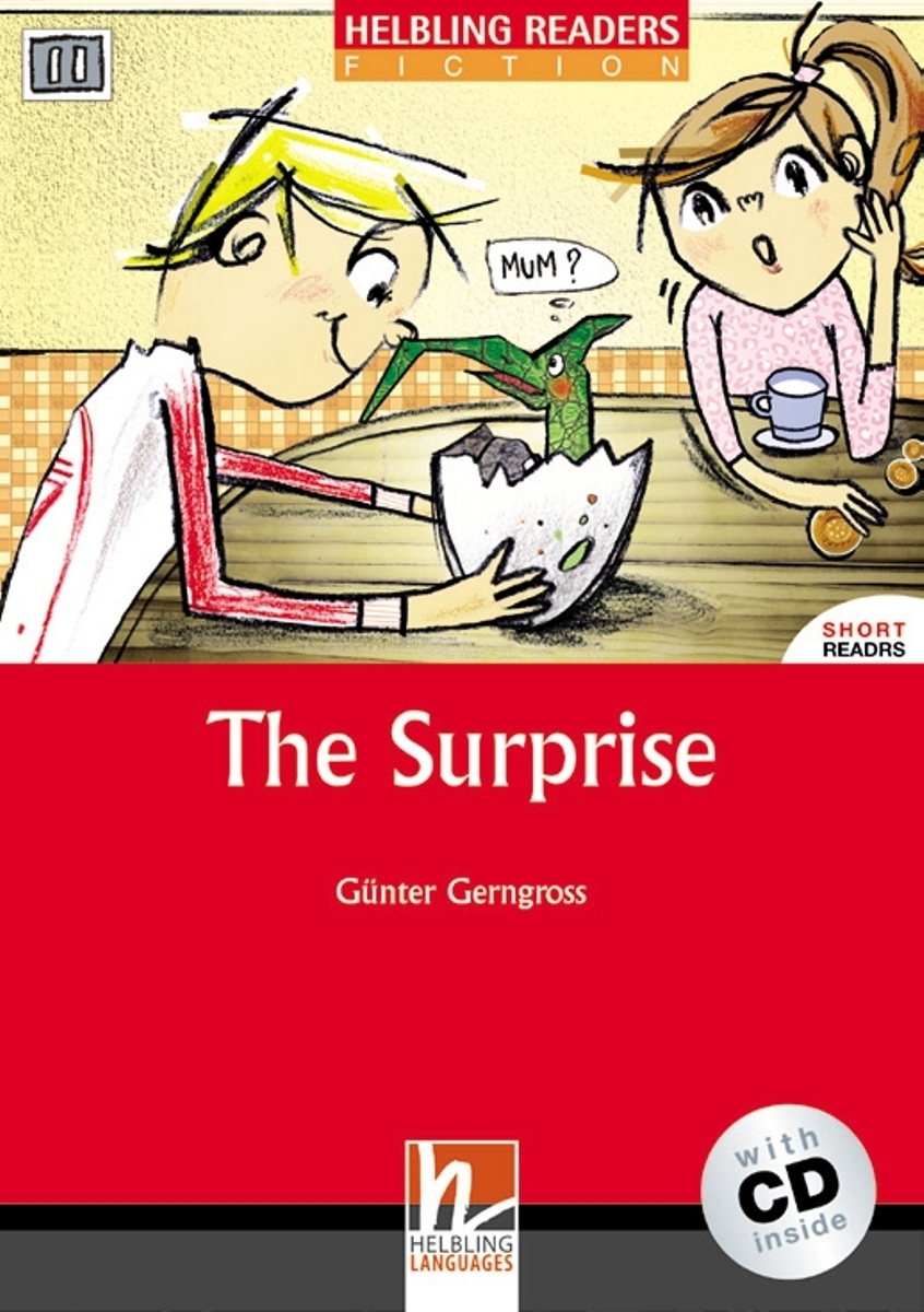 The Surprise + CD (Level 2) by Gunter Gerngross hoot by carl hiaasen level 2 cd