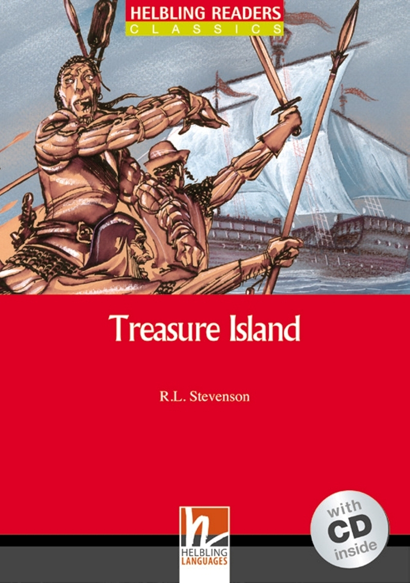 Treasure Island + CD (Level 3) by Robert Luis Stevenson next door cd level 1 by robert campbell