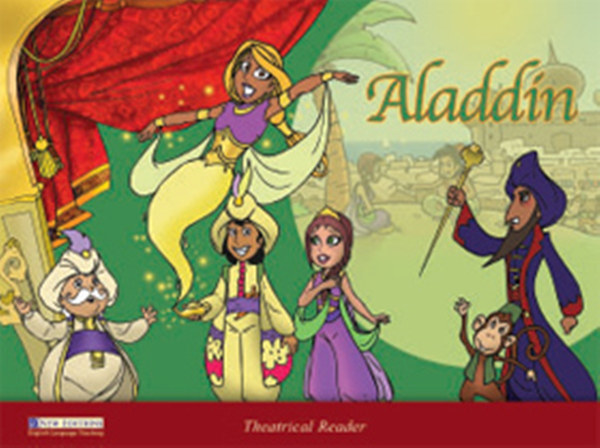 Theatrical Readers 4: Aladdin Student's Book [with Audio CD(x1)] merry team 6 activity book audio cd