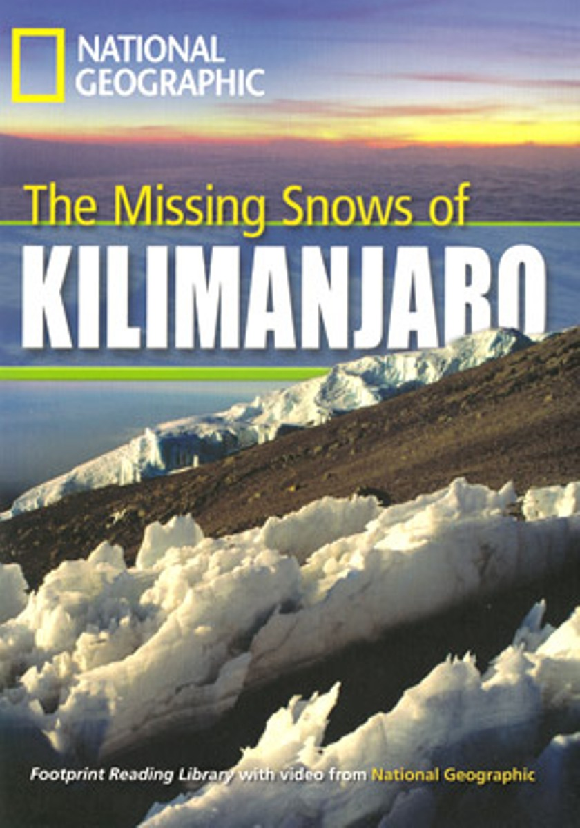 Footprint Reading Library 1300: Missing Snow Kilimanjaro footprint reading library 3000 mars on earth