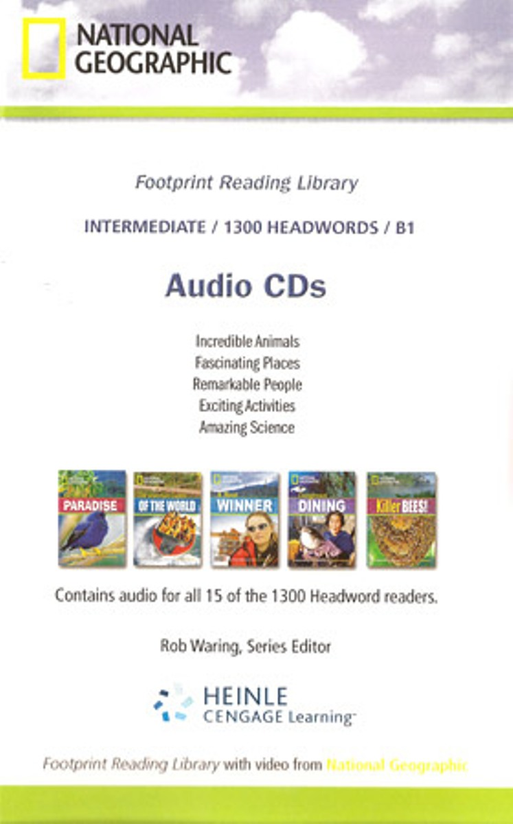 Footprint Reading Library 1300 - Audio CD(x1) footprint reading library 3000 mars on earth