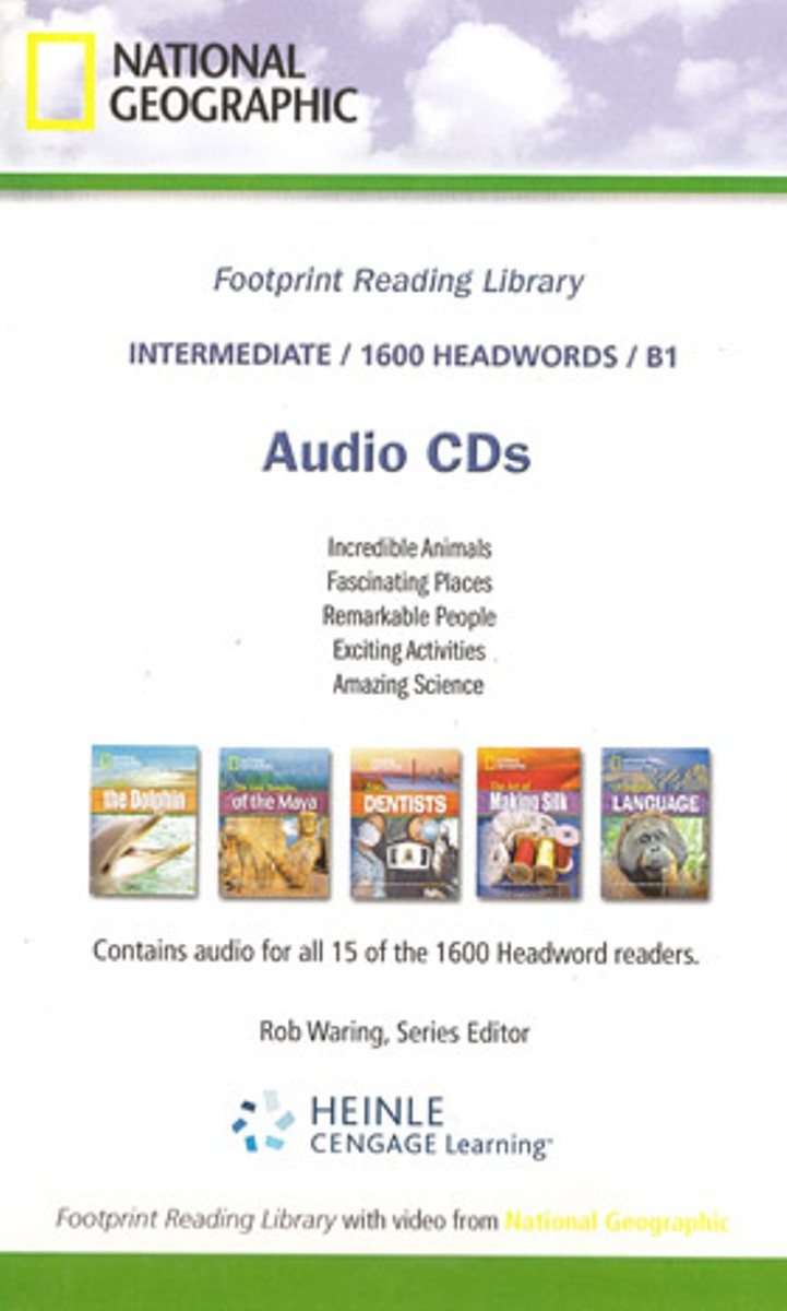 Footprint Reading Library 1600 - Audio CD(x1) footprint reading library 3000 mars on earth