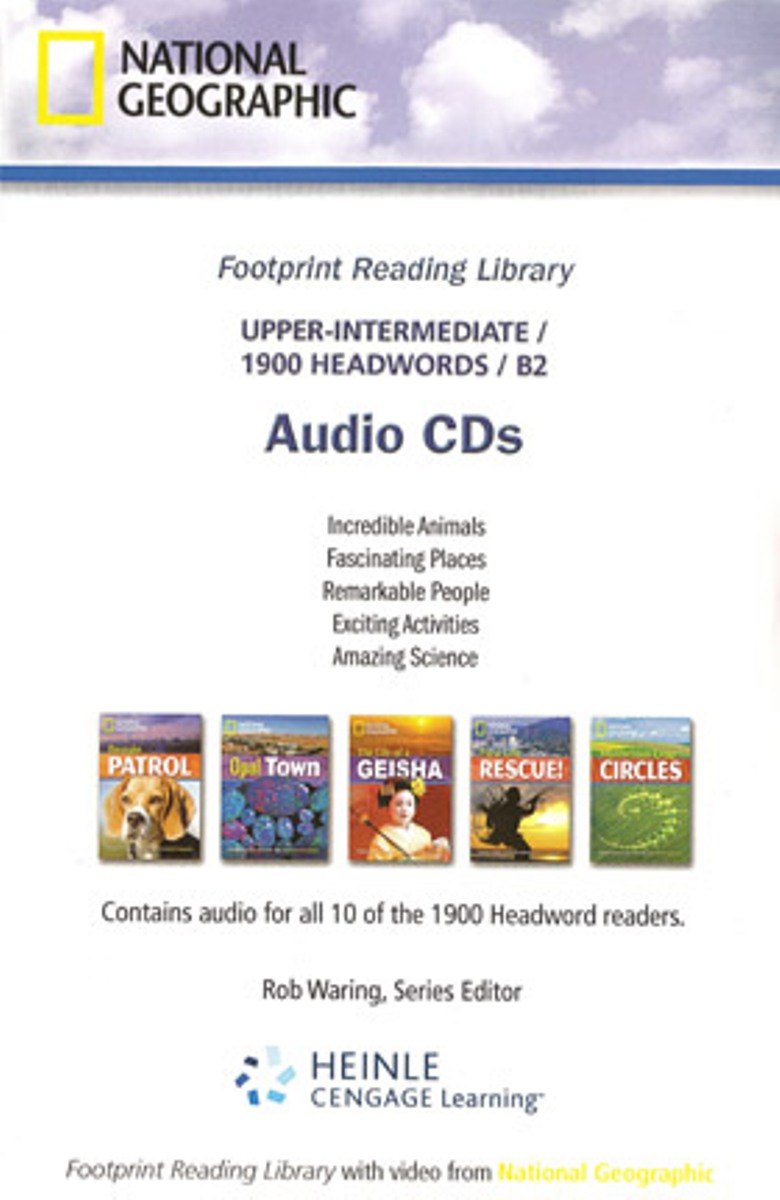 Footprint Reading Library 1900 - Audio CD(x1) footprint reading library 3000 mars on earth