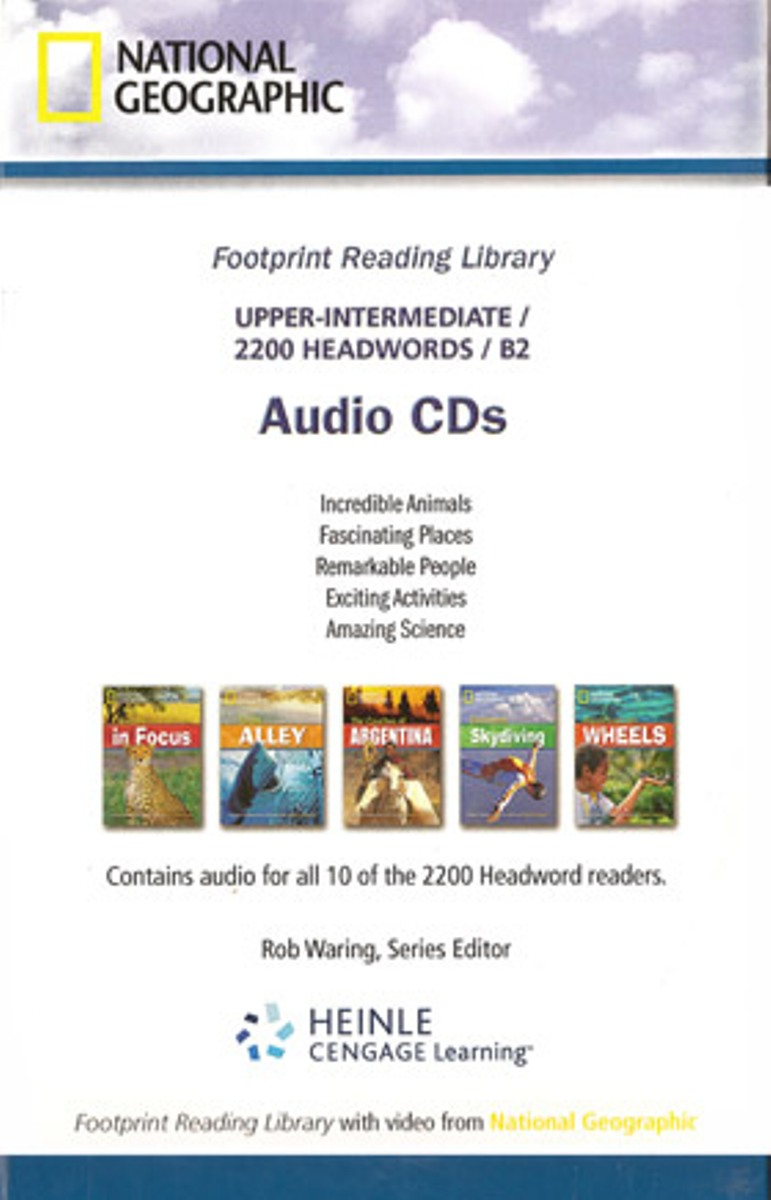 Footprint Reading Library 2200 - Audio CD(x1) footprint reading library 3000 mars on earth