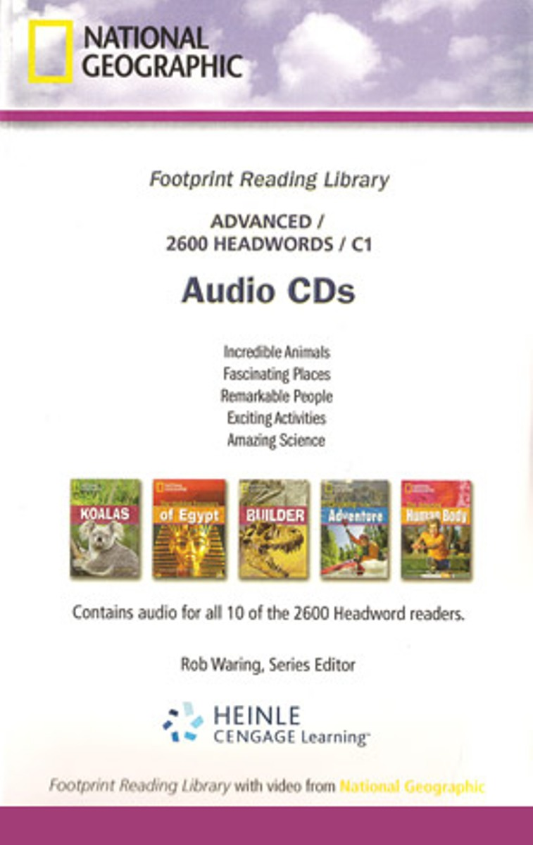 Footprint Reading Library 2600 - Audio CD(x1) footprint reading library 3000 mars on earth