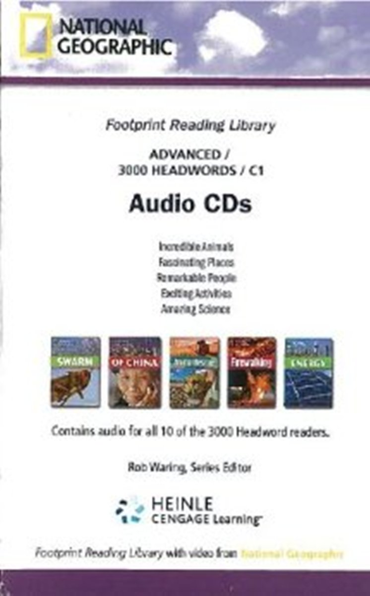 Footprint Reading Library 3000 - Audio CD(x1) footprint reading library 3000 mars on earth