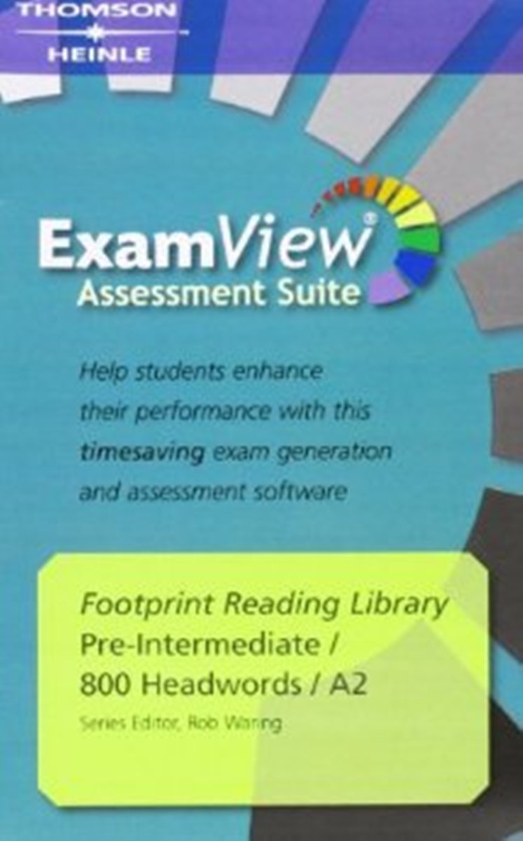 Footprint Reading Library 800 - ExamView CD-ROM(x1) footprint reading library 3000 mars on earth