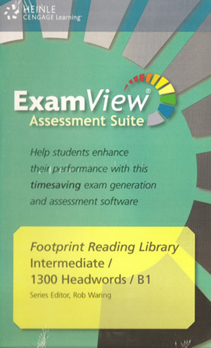 Footprint Reading Library 1300 - ExamView CD-ROM(x1) footprint reading library 3000 mars on earth