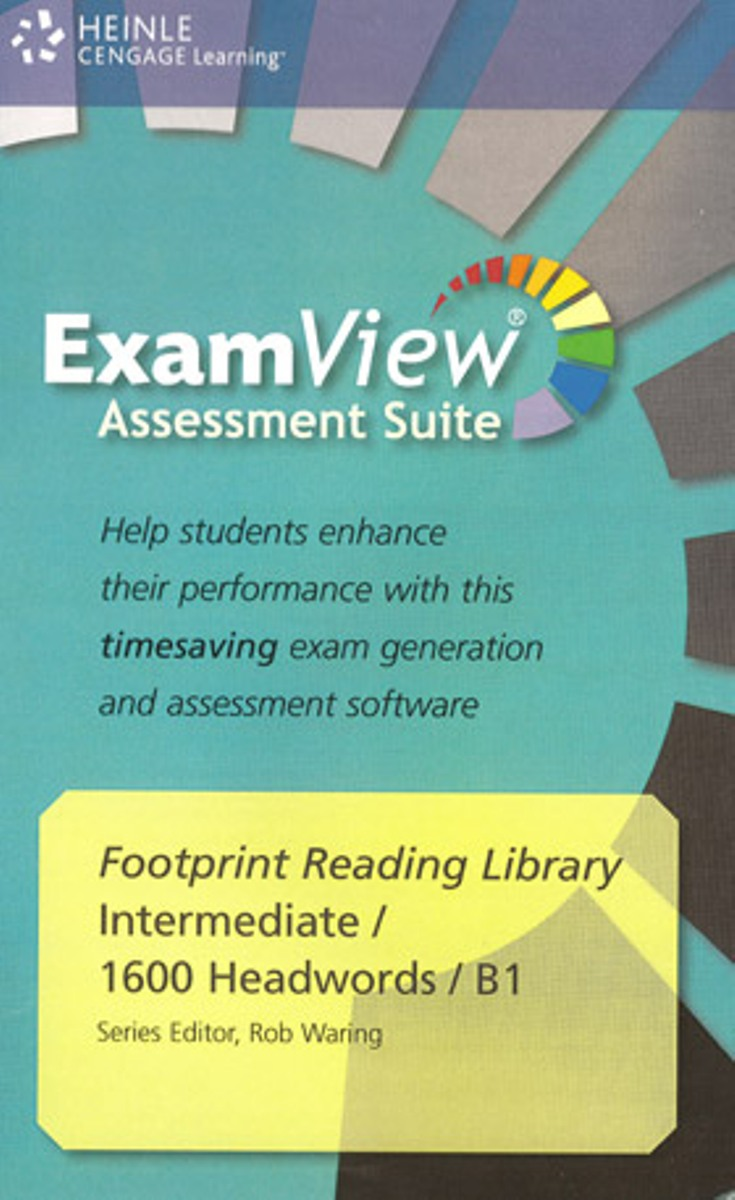 Footprint Reading Library 1600 - ExamView CD-ROM(x1) footprint reading library 3000 mars on earth
