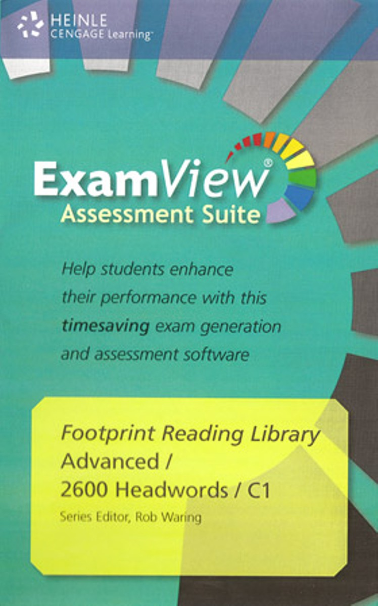 Footprint Reading Library 2600 - ExamView CD-ROM(x1) footprint reading library 3000 mars on earth