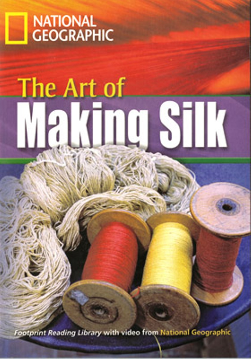 Footprint Reading Library 1600: Art Of Making SilkWith [Book with Multi-ROM(x1)] footprint reading library 3000 mars on earth