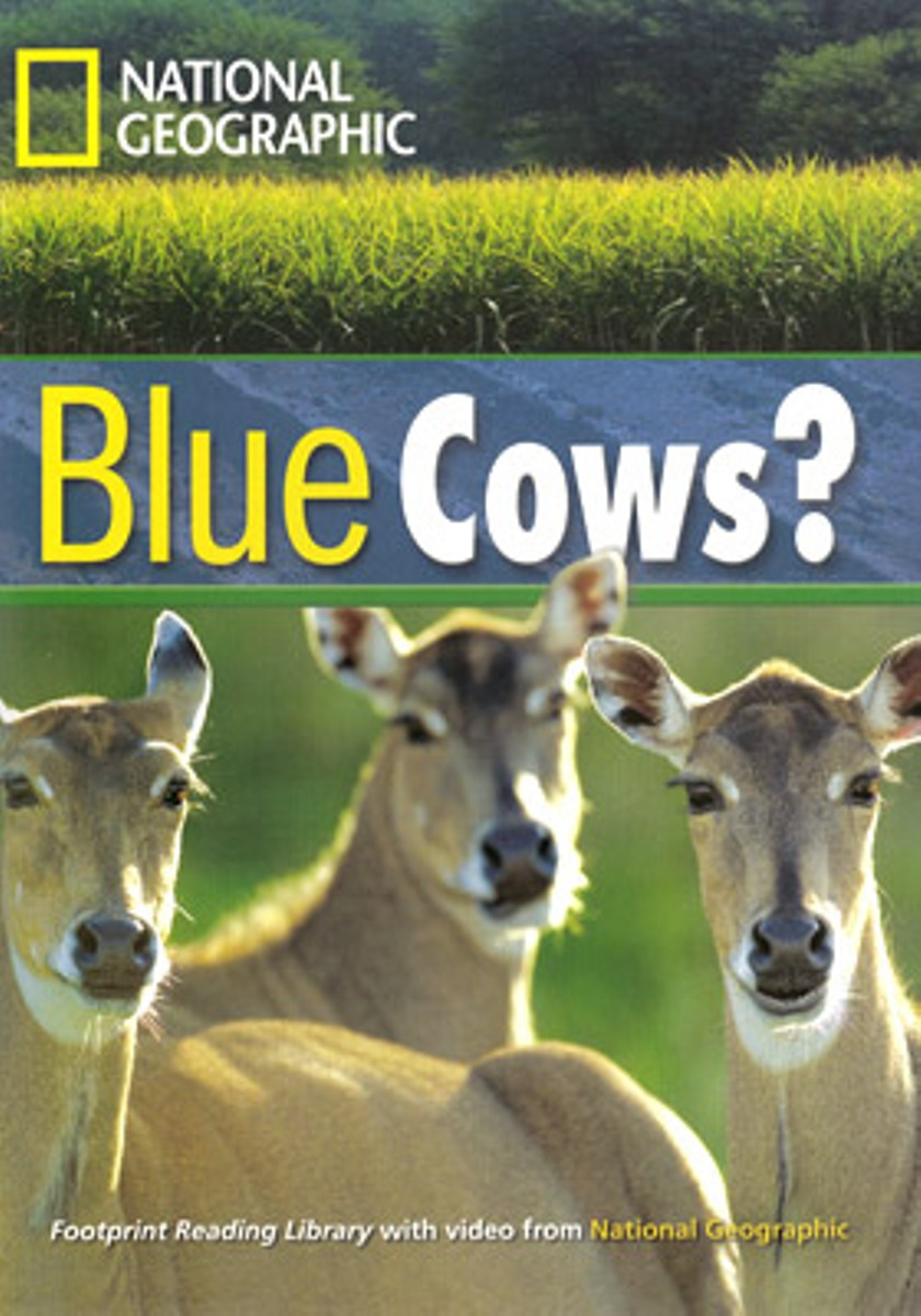Footprint Reading Library 1600: Blue Cows? [Book with Multi-ROM(x1)] боди quelle name it 1005676