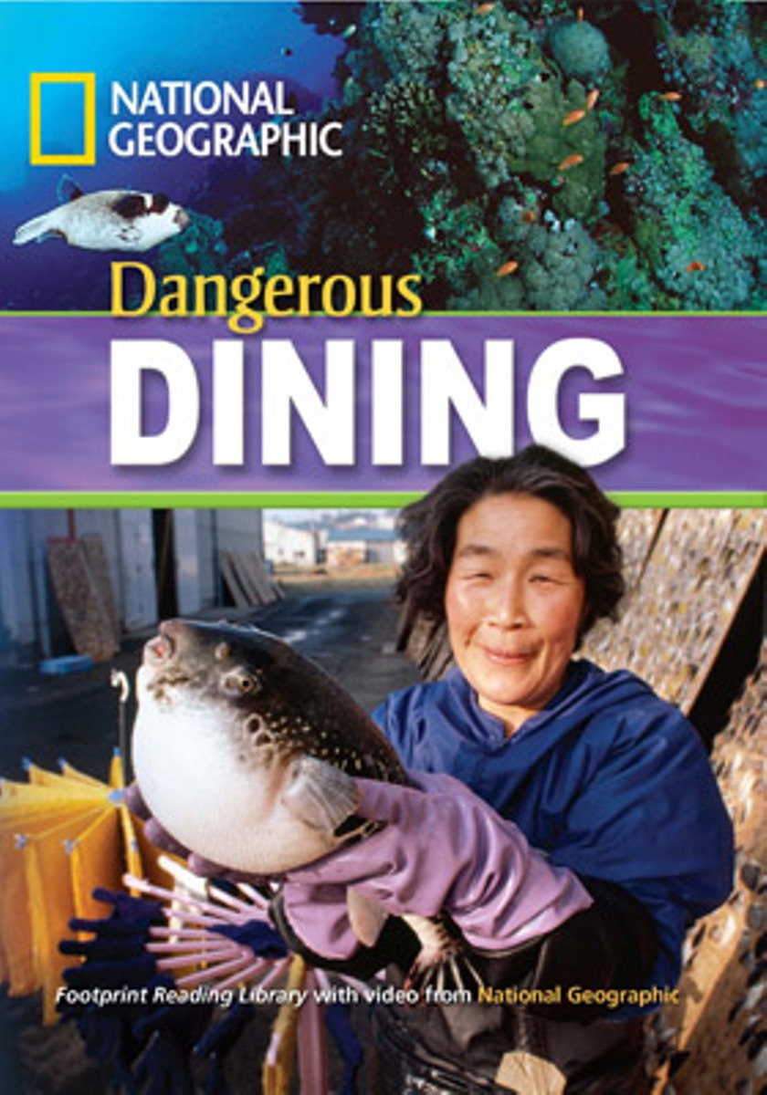 Footprint Reading Library 1300: Dangerous Dining [with Multi-ROM(x1)] footprint reading library 3000 mars on earth