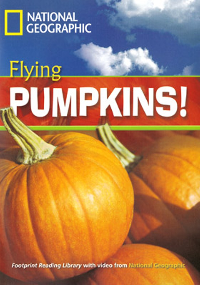 Footprint Reading Library 1300: Flying Pumpkins [Book with Multi-ROM(x1)] footprint reading library 3000 mars on earth
