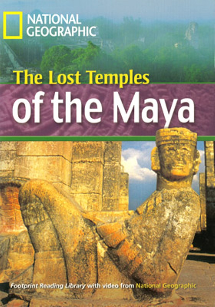 Footprint Reading Library 1600: Lost Temples Of Maya [Book with Multi-ROM(x1)] footprint reading library 3000 mars on earth