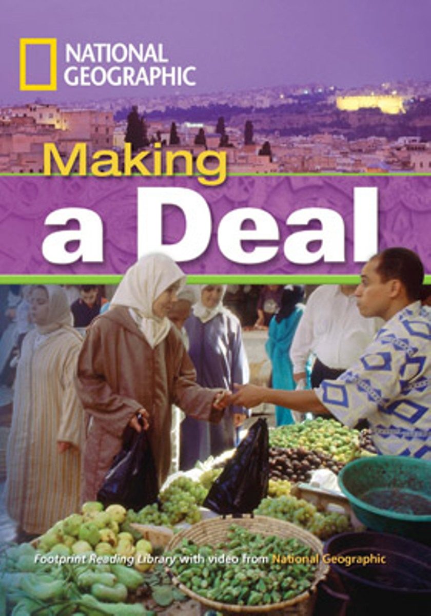 Footprint Reading Library 1300: Making A Deal [Book with Multi-ROM(x1)] footprint reading library 3000 mars on earth