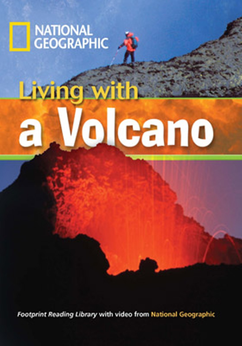 Footprint Reading Library 1300: Living With A Volcano [with Multi-ROM(x1)] footprint reading library 3000 mars on earth
