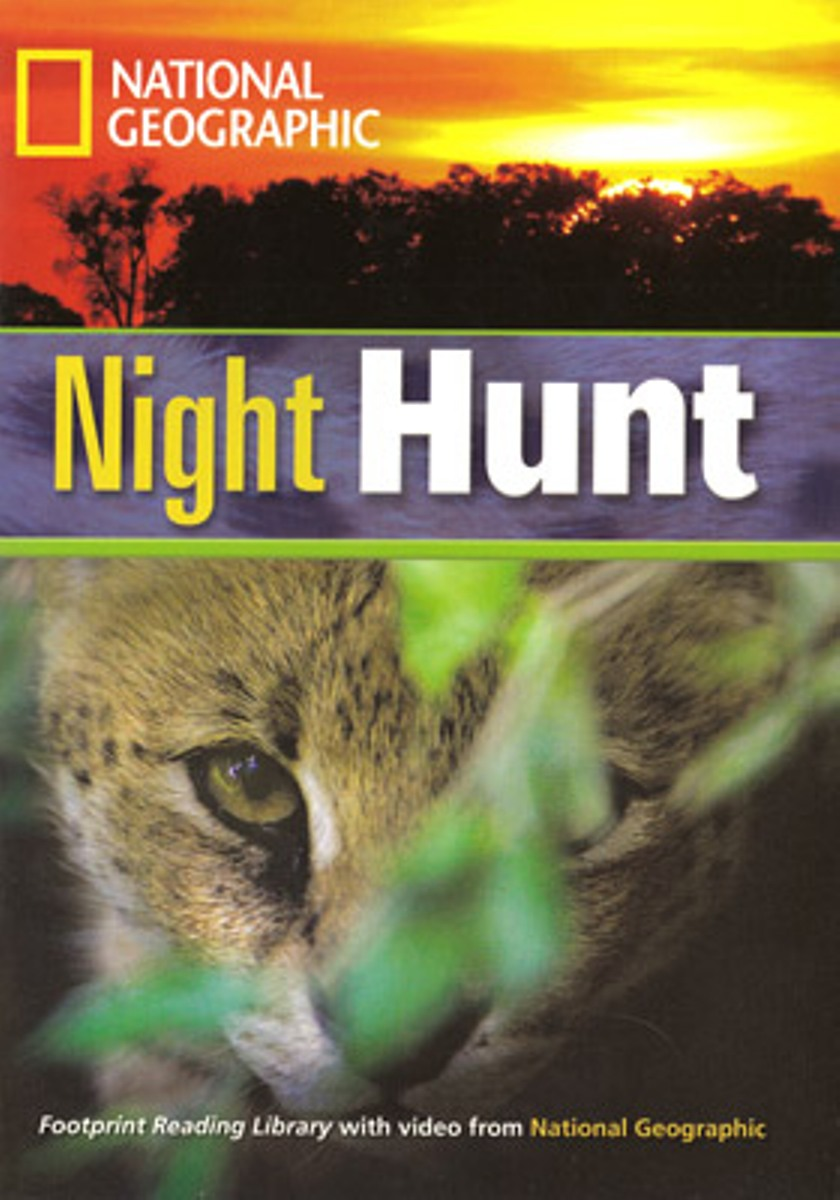 Footprint Reading Library 1300: Night Hunt [Book with Multi-ROM(x1)] roderick hunt annemarie young kate ruttle kipper s first match