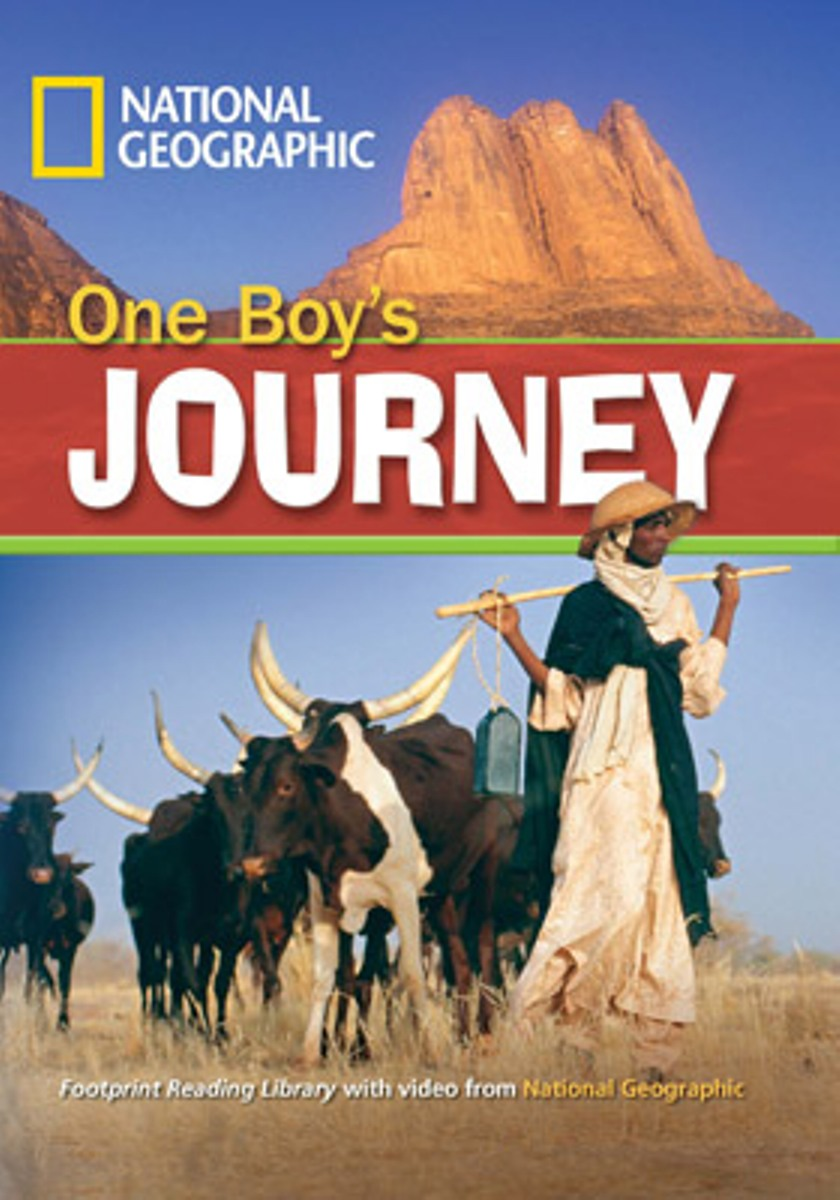 Footprint Reading Library 1300: One Boys Journey [with Multi-ROM(x1)] i must succeed