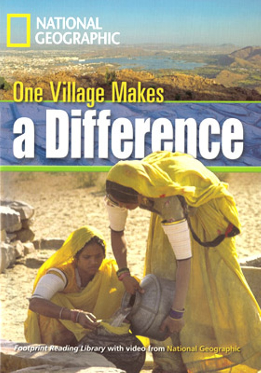 Footprint Reading Library 1300: One Village Makes A Difference [with Multi-ROM(x1)] footprint reading library 3000 mars on earth