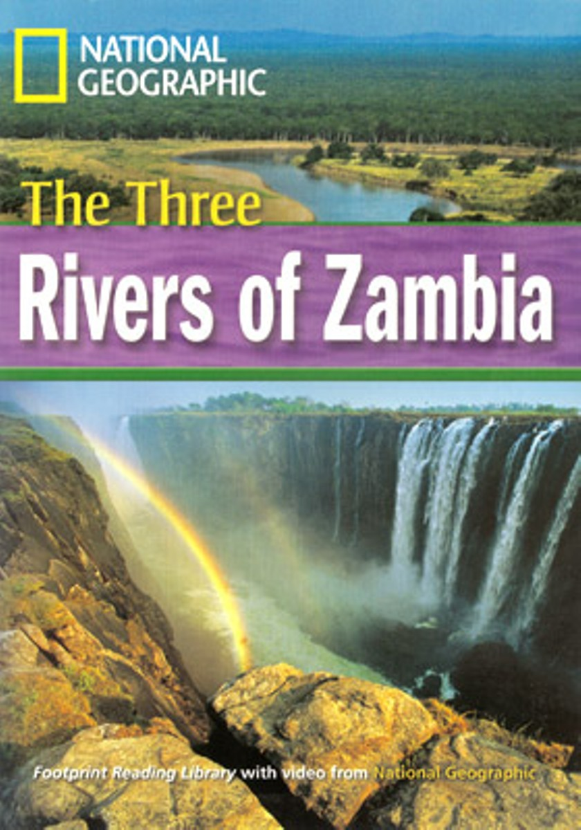 Footprint Reading Library 1600: Three Rivers Of Zambia [with Multi-ROM(x1)]