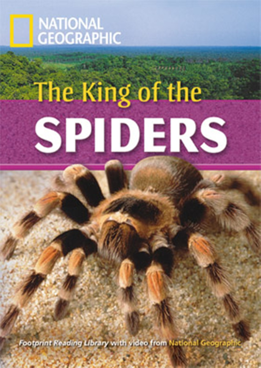 Footprint Reading Library 2600: King of the Spiders [Book with Multi-ROM(x1)] footprint reading library 3000 mars on earth
