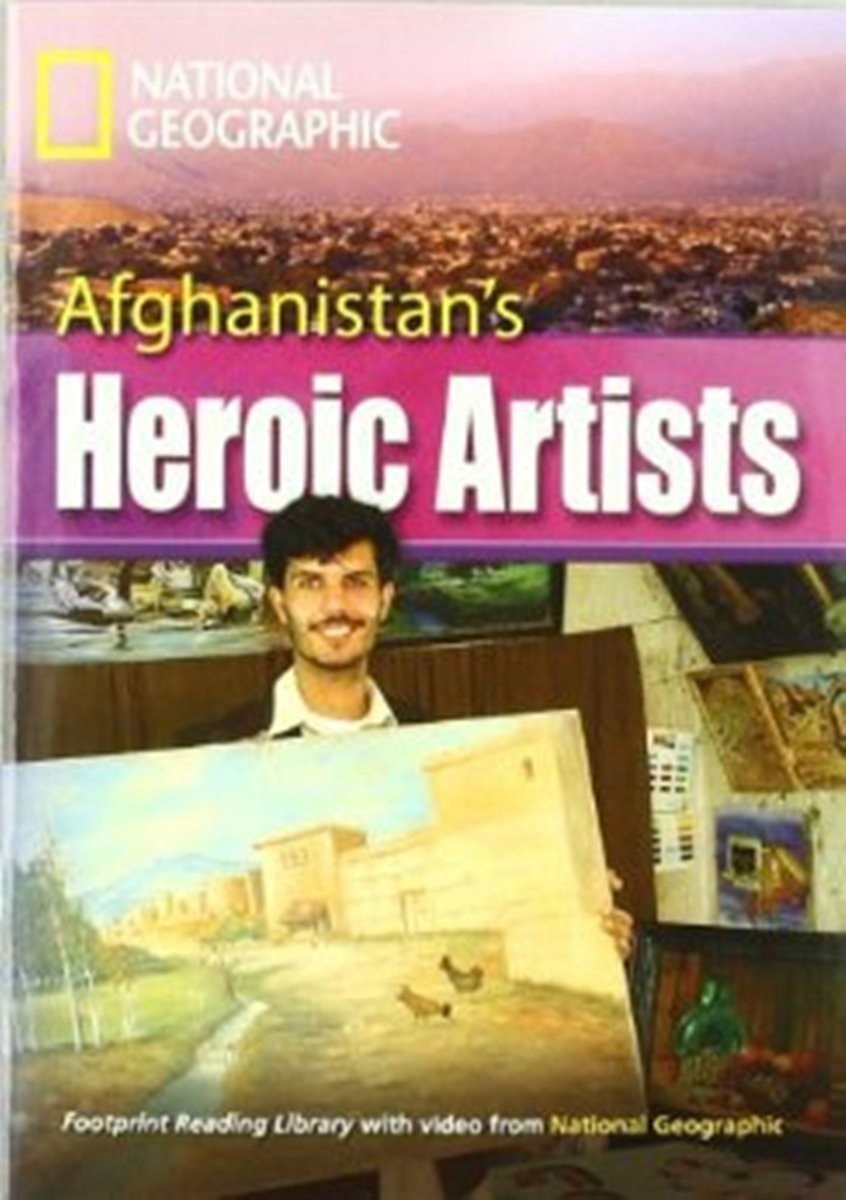 Footprint Reading Library 3000: Afghanistan's Heroic Artists [Book with Multi-ROM(x1)] footprint reading library 3000 mars on earth