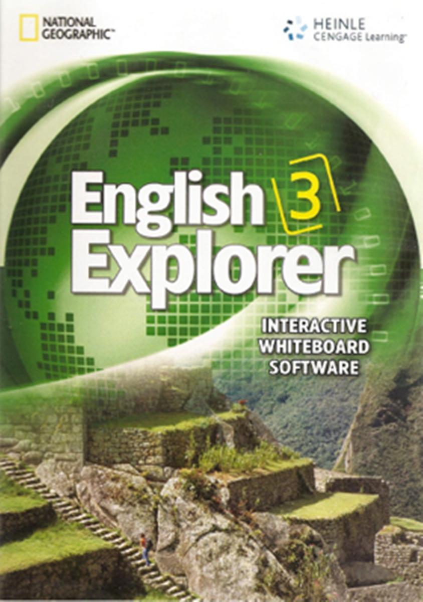 English Explorer 3 Interactive Whiteboard Software CD-ROM(x1) english explorer 4 interactive whiteboard software cd rom x1
