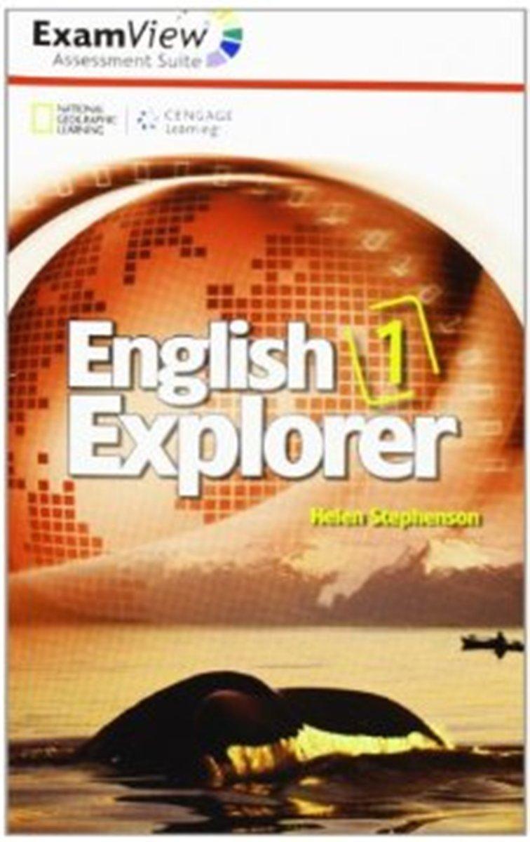 English Explorer 1 ExamView CD-ROM(x1) english explorer 4 interactive whiteboard software cd rom x1