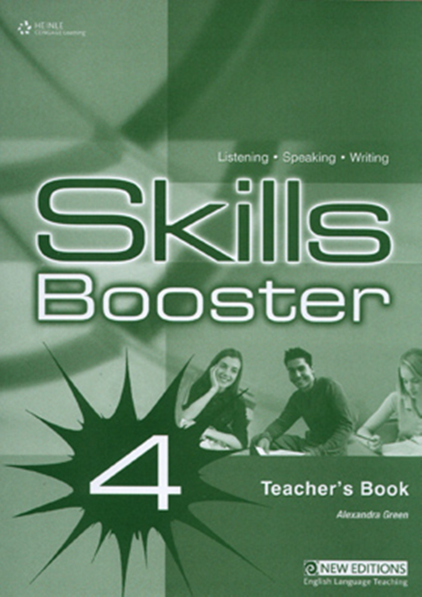 Skills Booster 4 Intermediate Teacher's Book northstar listening and speaking level 4 teacher's manual and achievment tests cd
