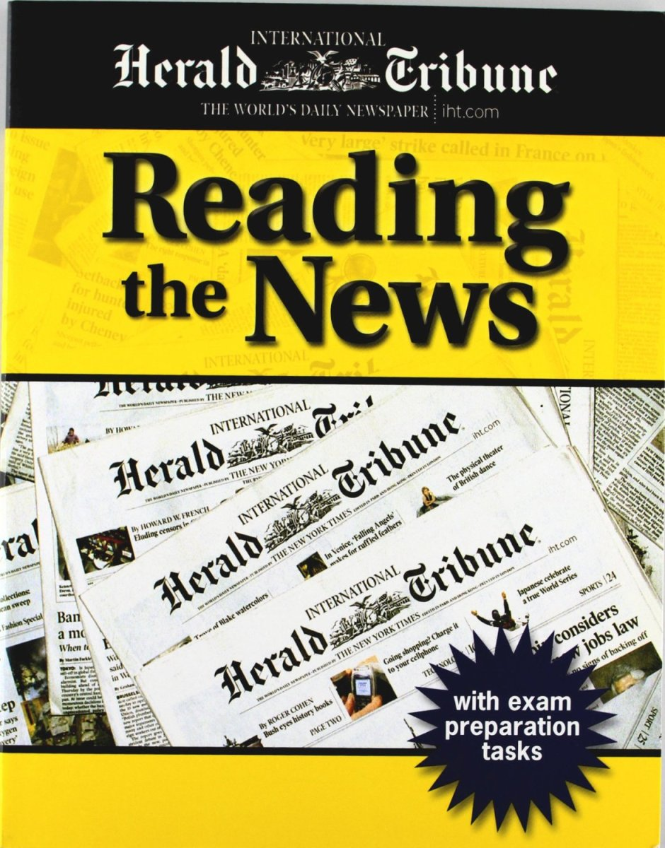 Reading the News Student's Book [with Audio CD(x2)] listen in book 3 student s book [with audio cd x1 ]