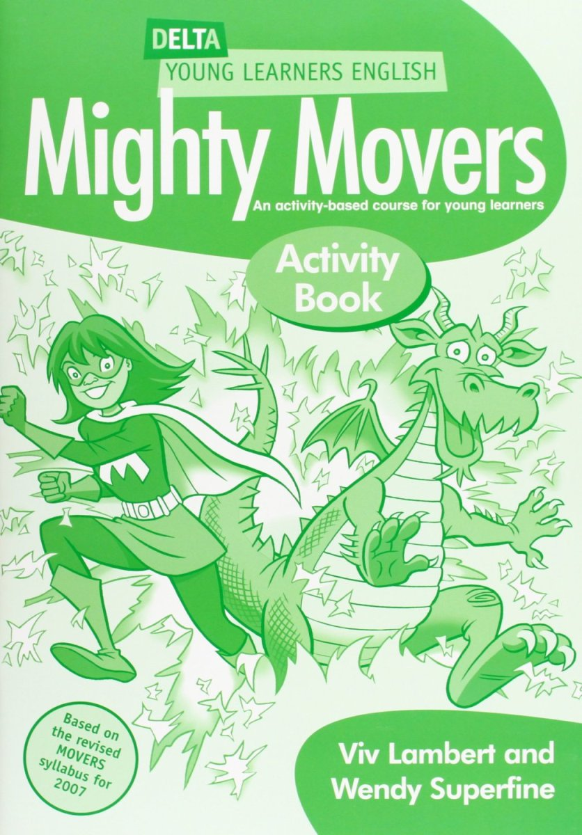 DELTA Mighty Movers: Activity Book fun for movers student s book with online activities with audio and home fun booklet 4