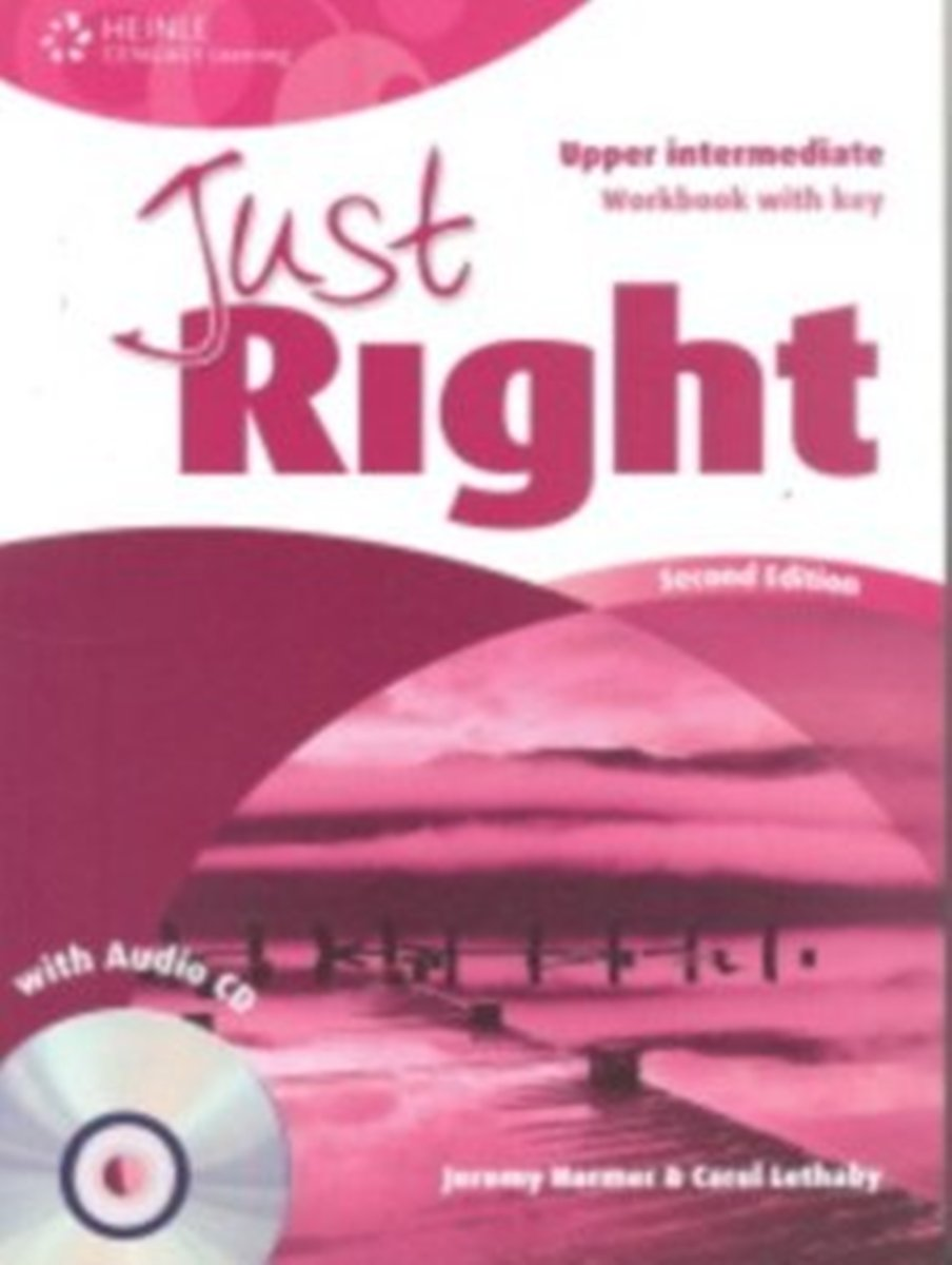 Just Right Upper-Intermediate Workbook (With Key) + Audio CD new total english intermediate workbook with key cd