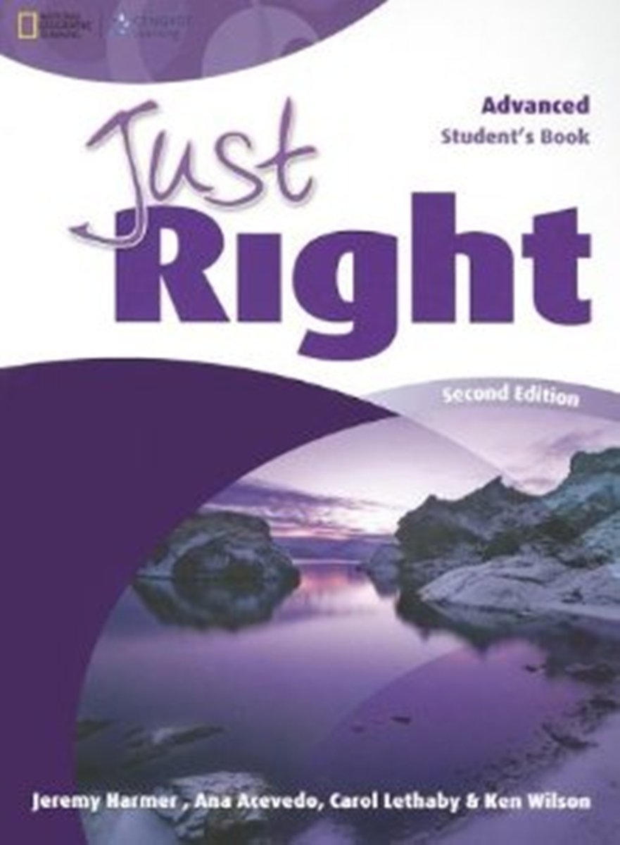 Just Right Advanced Student's Book