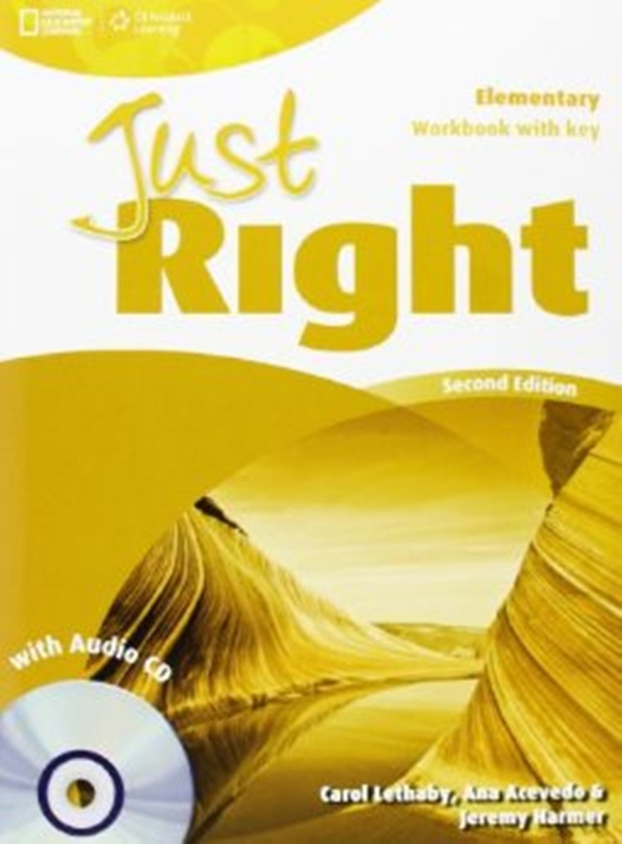 Just Right Elementary Workbook (WithKey) + Audio CD clarke daniela oxford grammar for schools 4 teachers book with audio cd