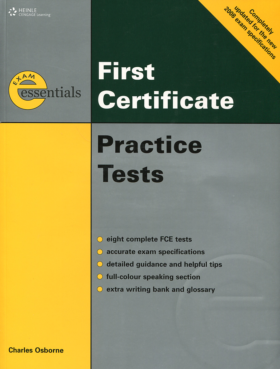 First Certificate: Practice Tests (+ 3 CD)
