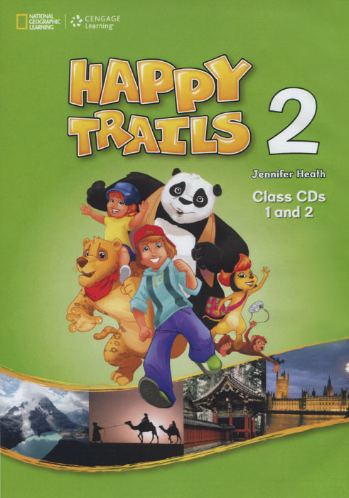 Happy Trails 2 (аудиокурс на 2 CD) happy trails 2 activity book