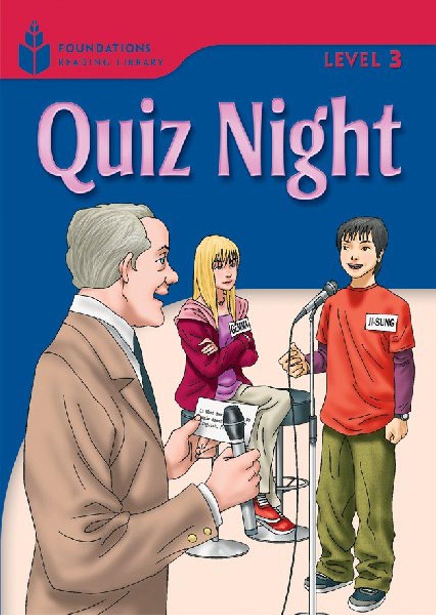 Foundation Readers 3.6: Quiz Night стулья для салона hye sung