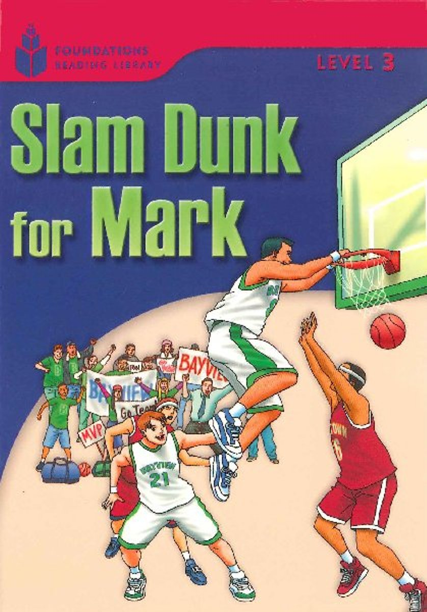 Foundation Readers 3.1: Slam Dunk For Mark 30pcs in one postcard take a walk on the go dubai arab emirates christmas postcards greeting birthday message cards 10 2x14 2cm