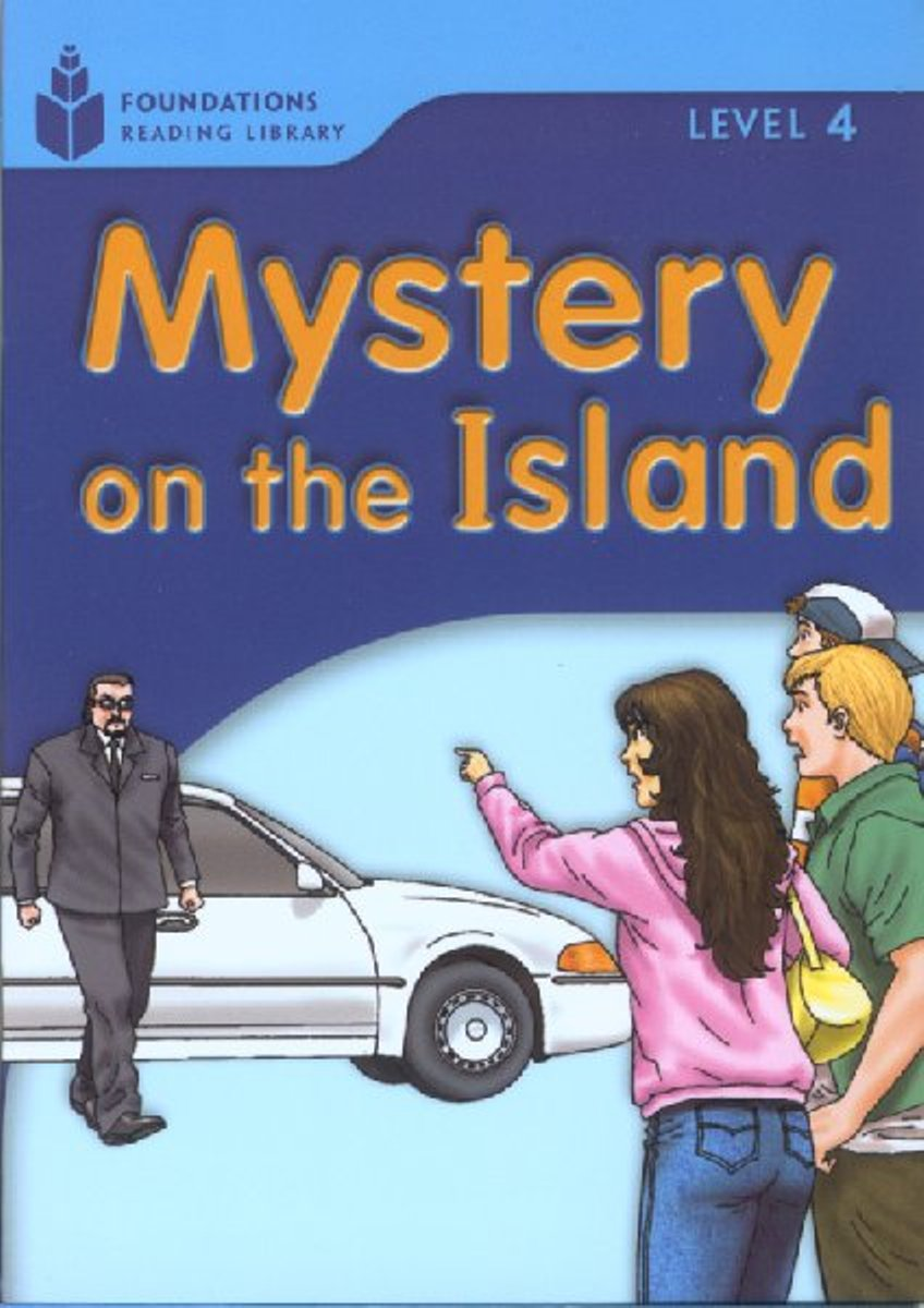 Foundation Readers 4.6: Mystery On The Island girl on the boat