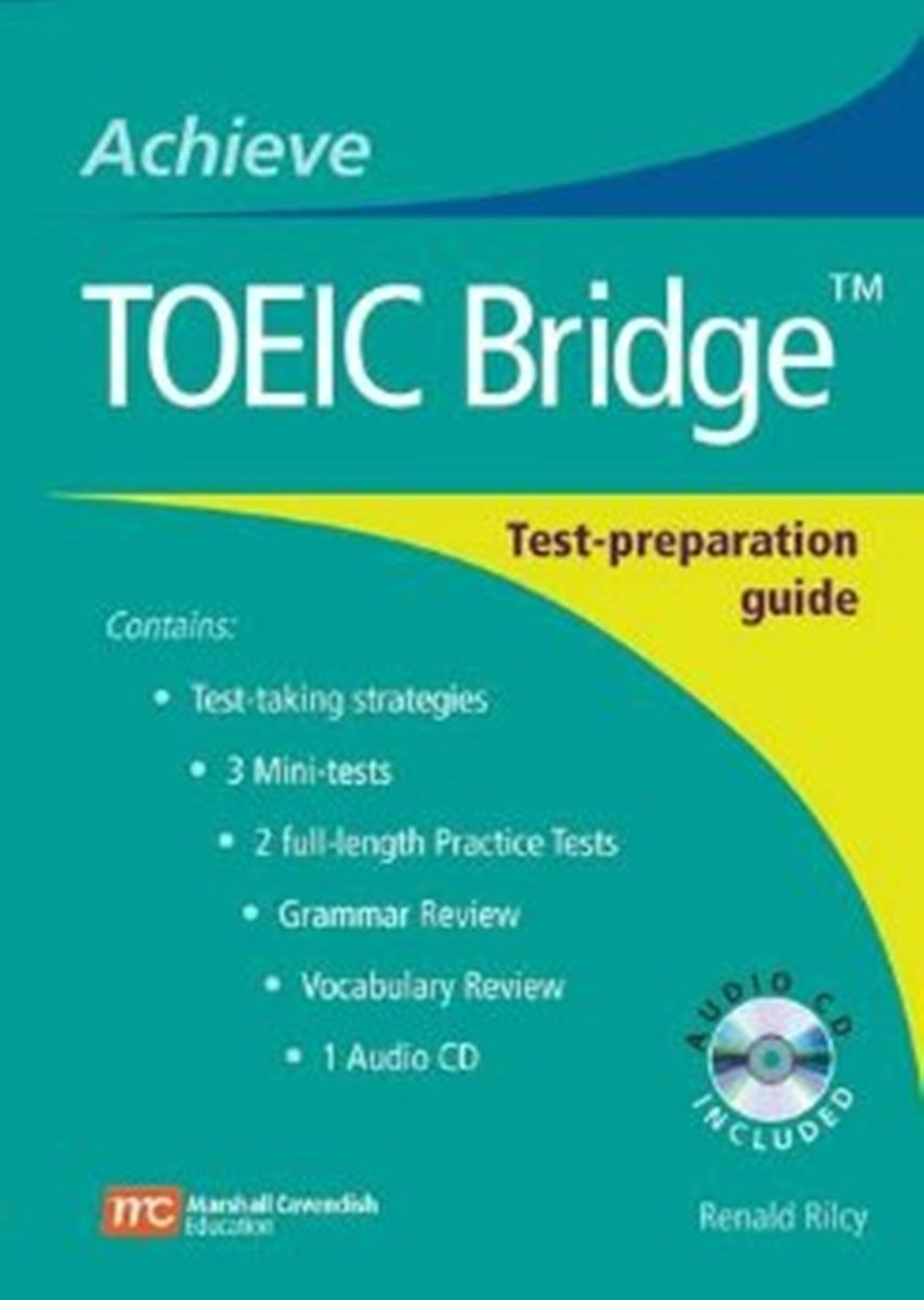 Achieve TOEIC Bridge [Book with Audio CD(x1)] touchstone teacher s edition 4 with audio cd