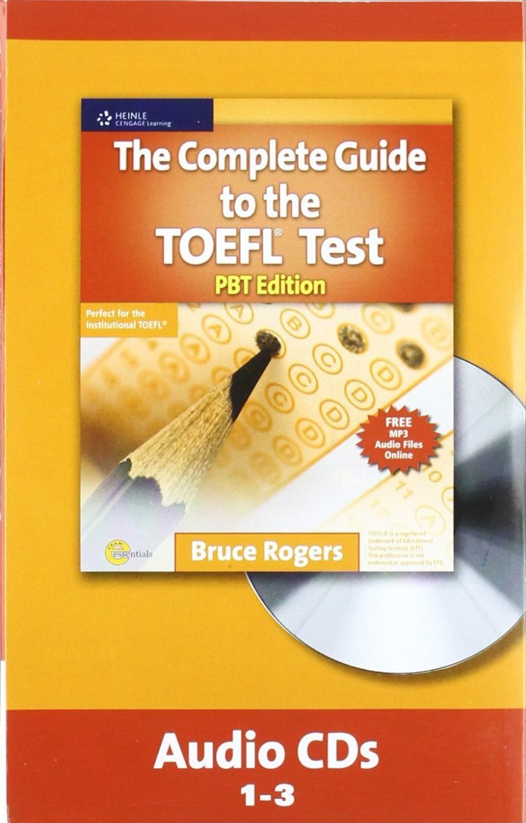 Complete Guide To TOEFL Pupil's BookT Audio CD(x1)