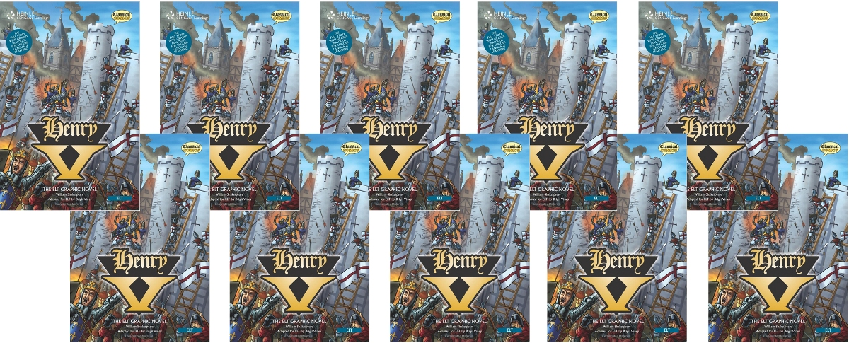 Comics: Henry V Class Set [10 Books with Audio CD(x1)] karin kukkonen studying comics and graphic novels