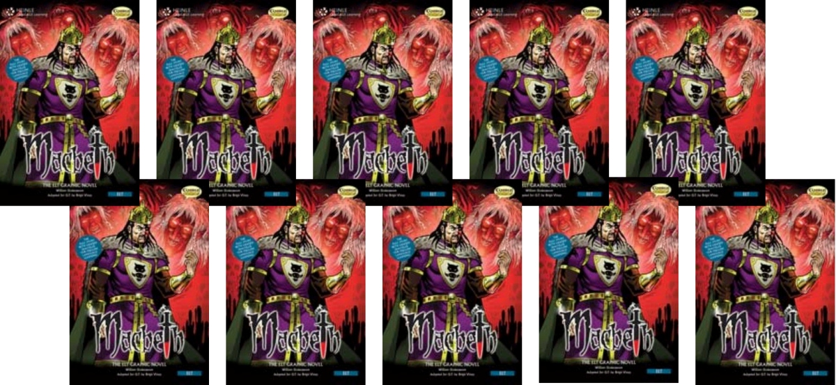 Comics: Macbeth Class Set [10 Books with Audio CD(x1)] the classic 90s collection cd