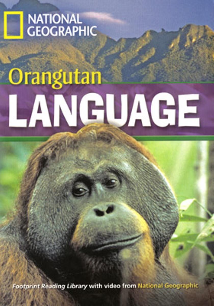 Footprint Reading Library 1600: Orangutan Language [with Multi-ROM(x1)]