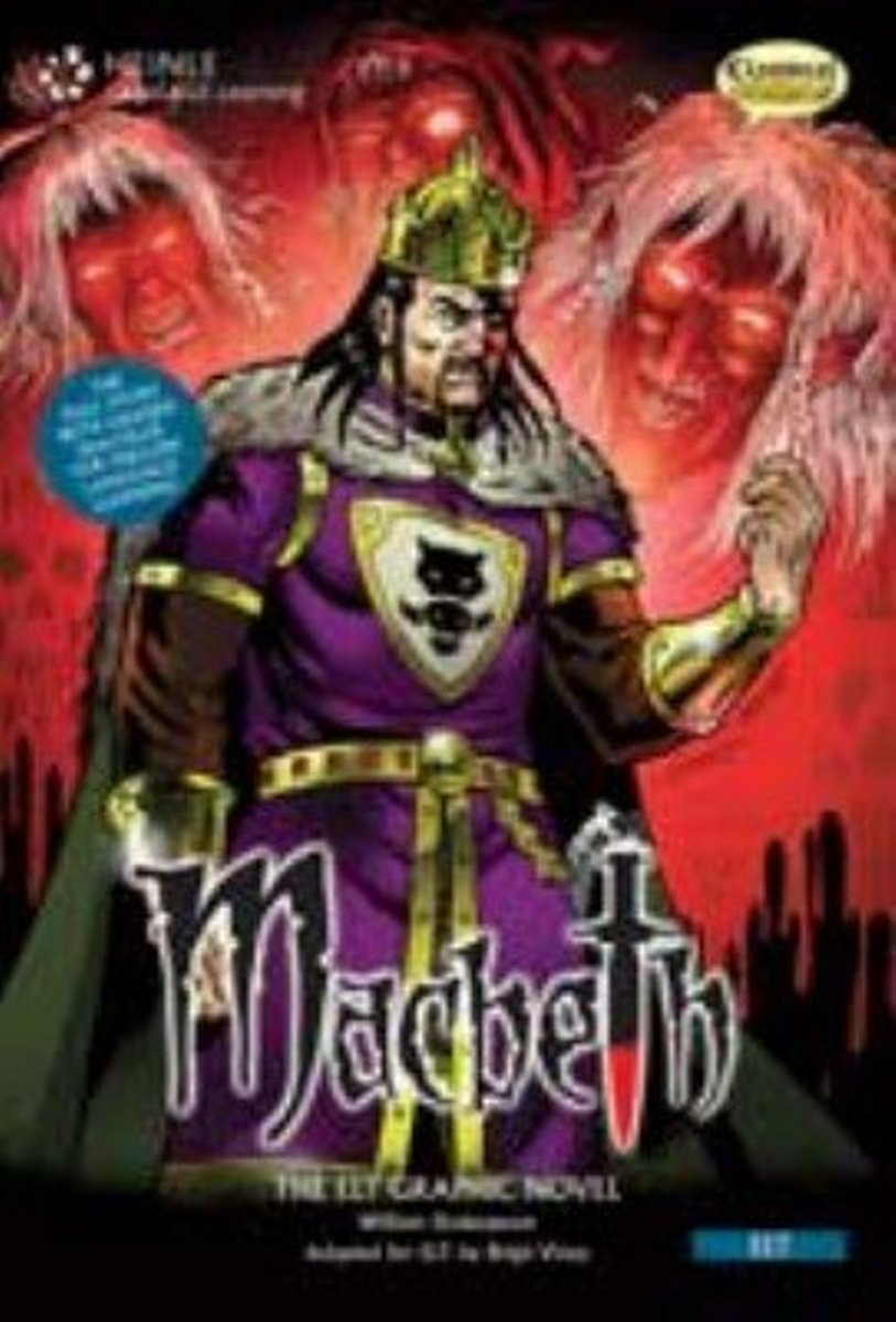 Comics: Macbeth [Book with Audio CD(x1)] karin kukkonen studying comics and graphic novels