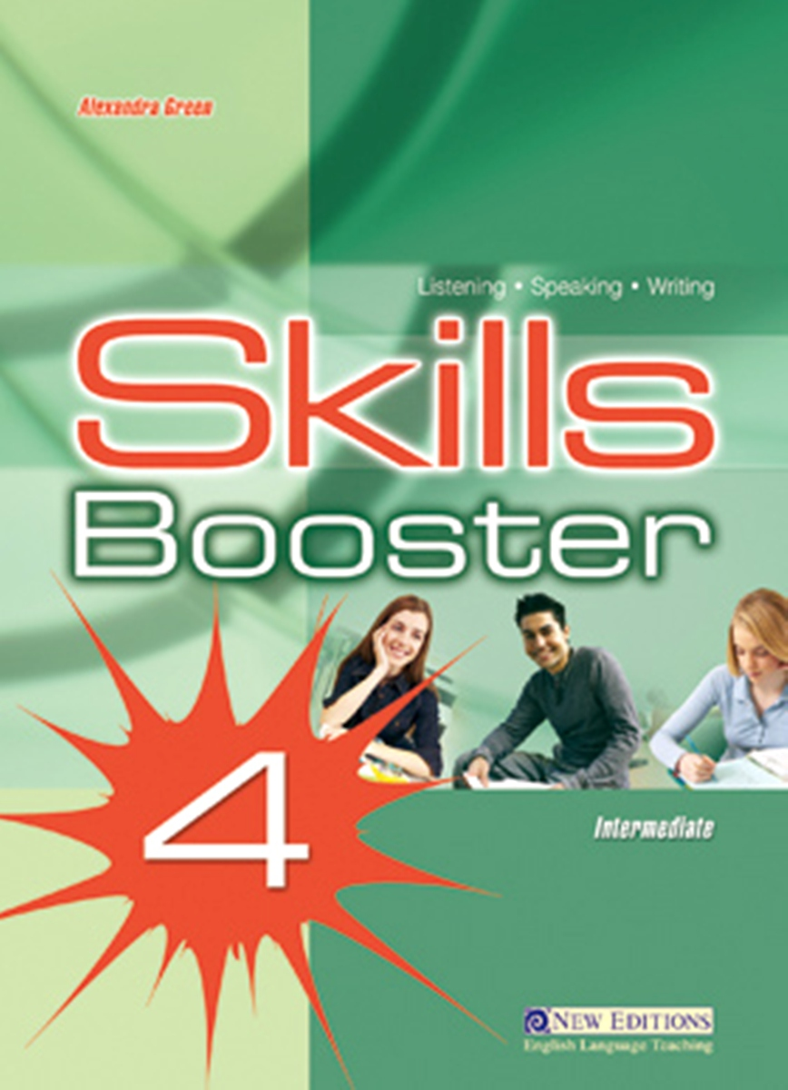 Skills Booster 4 Intermediate Student's Book [Teen] cambridge english skills real listening and speaking level 4 with answers 2 cd